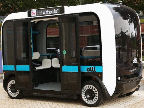 Automatisch Vervoer Last Mile