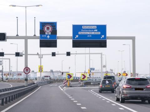 Aansluitingen A15 en N57