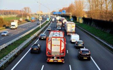 A15 traject Papendrecht - Gorinchem