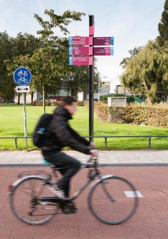 Bereikbaarheid campus Delft