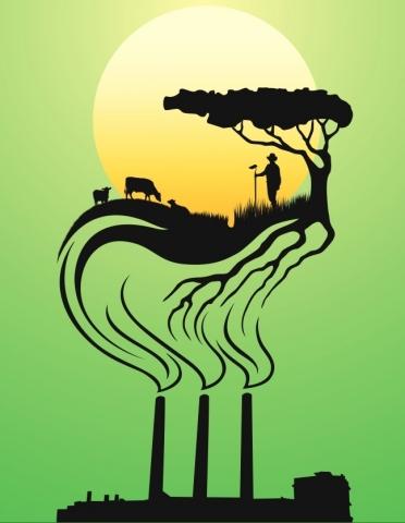 Groene Cirkel innovatieve en duurzame landbouw en voedselketen Zuid-Hollandse eilanden