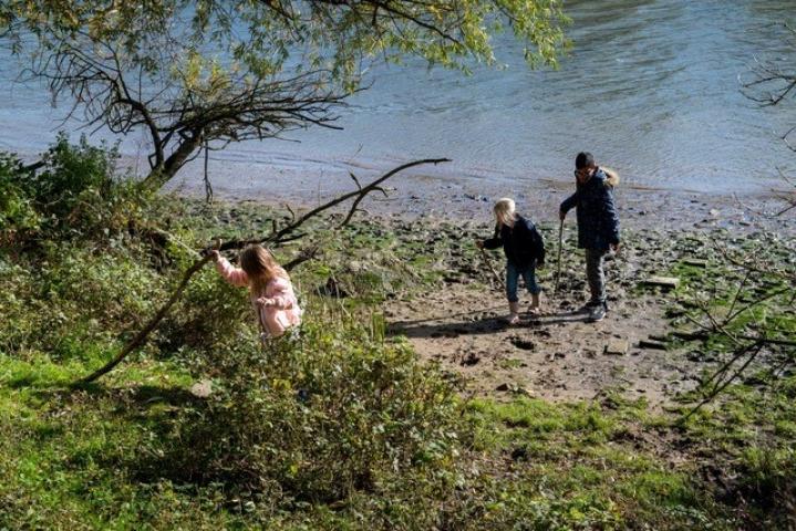Rivier als Getijdenpark