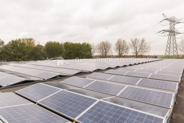 Zonneenergie Rotterdam